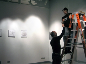 hanging and installing