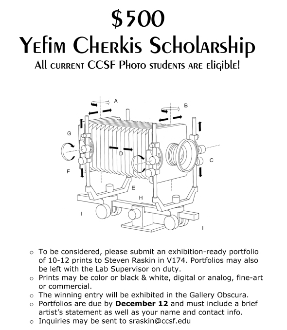 Cherkis Announcement F'13
